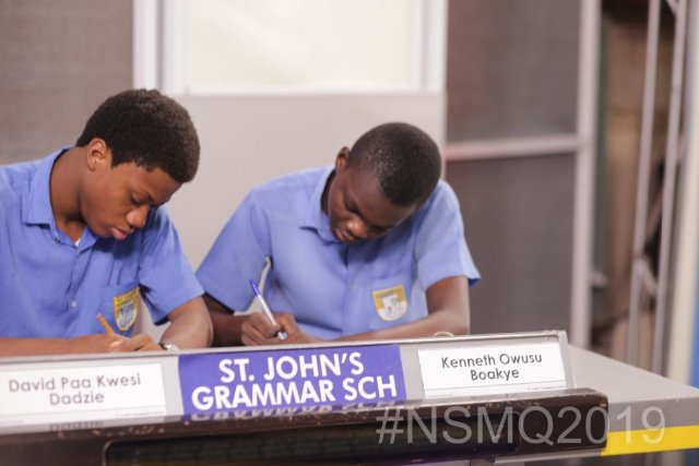 NSMQ2019: St. John's Grammar dismisses fancied 'National', Biheco