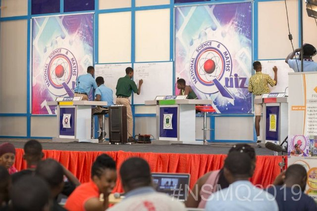 NSMQ2019: These 3 schools turned 'Problem of the Day' to 'Play of the Day