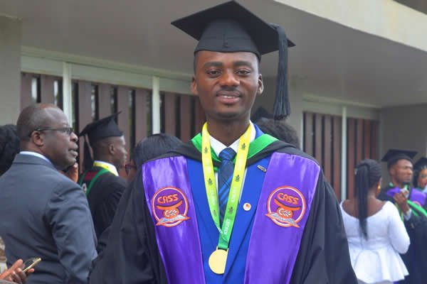 KNUST student from less endowed SHS becomes valedictorian